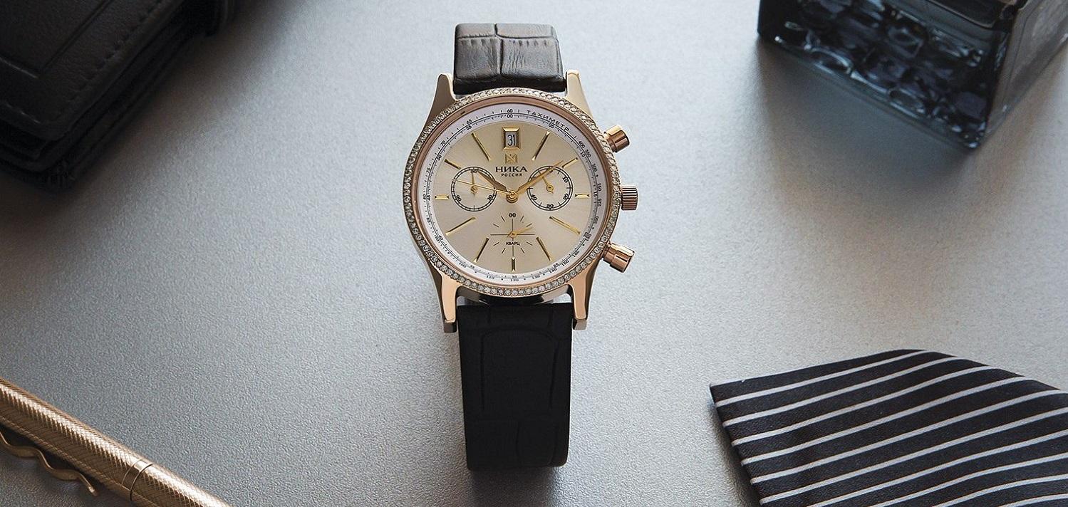 Купить российские золотые мужские часы НИКА с доставкой в интернет ... 2412026c228