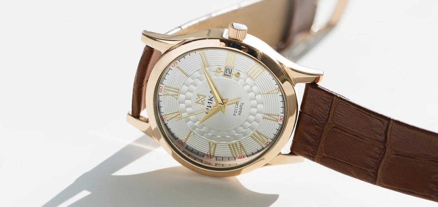 130008105cad Купить мужские золотые часы НИКА с доставкой   Часовой интернет ...