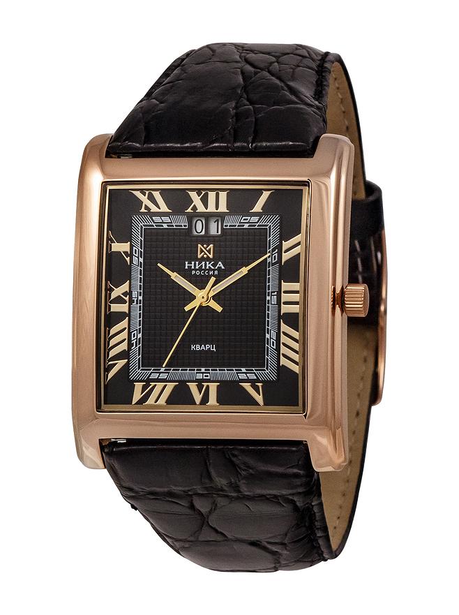 1608380a5ce2 Купить золотые мужские наручные часы НИКА CELEBRITY артикул 1054.0.1.51H с  доставкой - nikawatches.ru