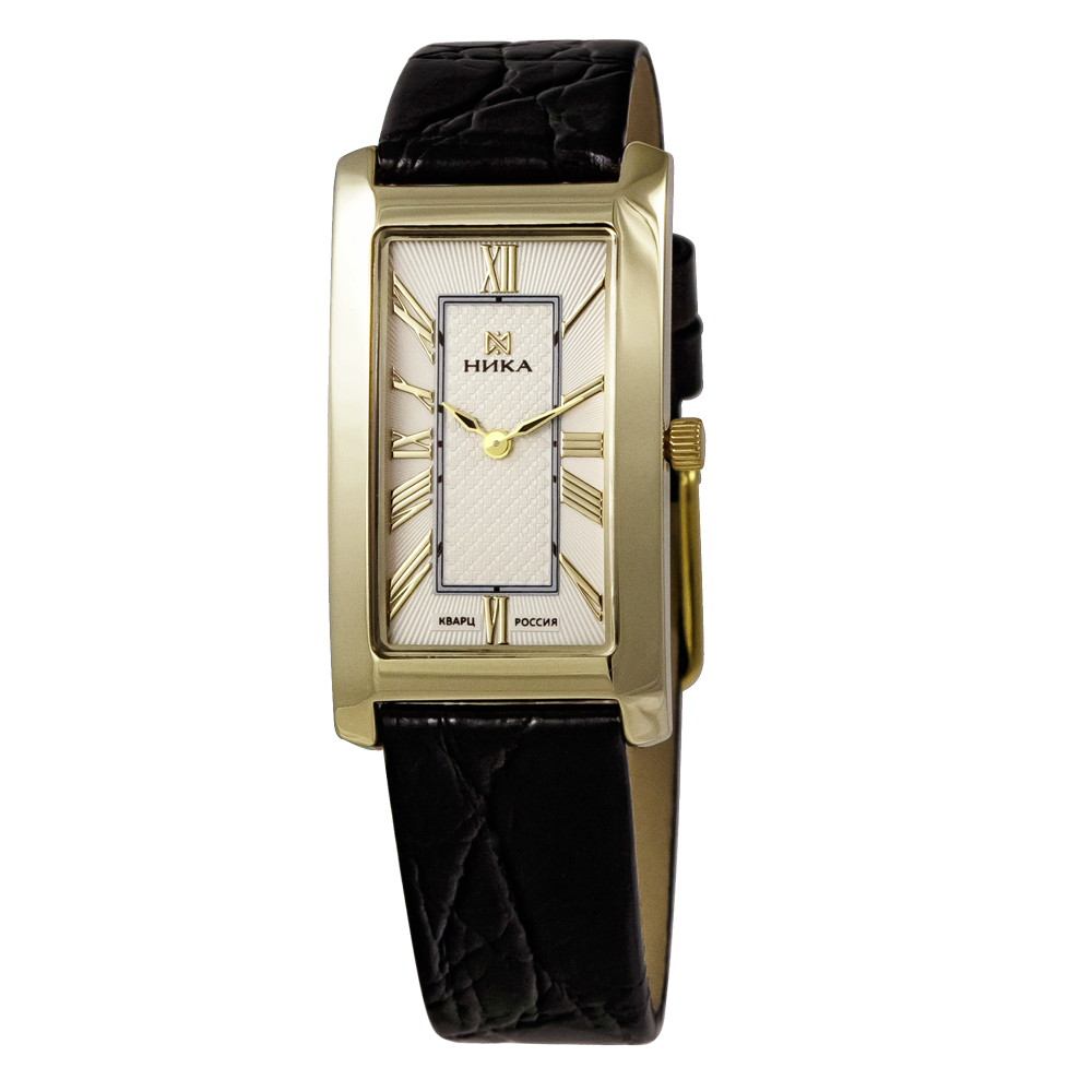31d45103a3a0 Купить золотые женские наручные часы НИКА LADY артикул 0550.0.1.21H ...
